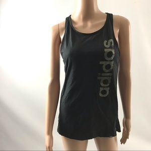 Adidas Women's Shirt Tank Top Tee Size XS Black